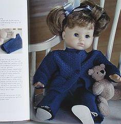 Doll strikkeoppskrift