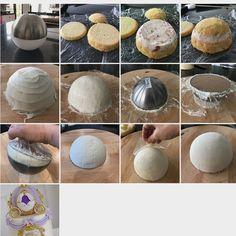 cake sphere tutorial