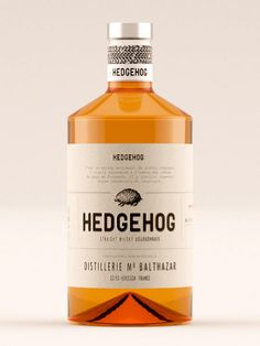 Hedgehog Whisky - Lasuite Atelier