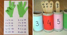 26 kreatív, otthon elkészíthető logikai játék gyerekeknek!