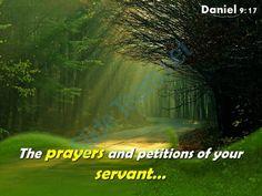 daniel 9 17 the prayers and petitions powerpoint church sermon Slide01  http://www.slideteam.net/