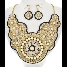 "Spotted while shopping on Poshmark: ""Ivory Bib Necklace""! #poshmark #fashion #shopping #style #Jewelry"