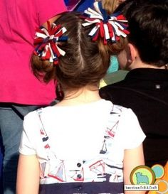 diy 4th of july hair accessories