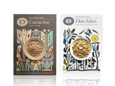 Doves Farm Gluten Free Cereals | Packaging of the World: Creative Package Design Archive and Gallery
