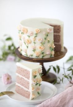 """Few things frustrate me more than domed cake layers with burnt edges. I make cakes QUITE often so you can imagine I like things to go smoothly especially since I'm usually filming and sharing the results. When I first started out my cakes had a very """"home made"""" look about them, the corners were rounded and they often"""