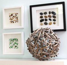 Vous pouvez facilement fabriquer des choses intéressantes déco bois flotté qui vont ajouter une touche chaleureuse et rustique à votre intérieur.Regardez!