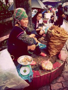Traditional People in Sapa.