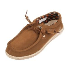 Hey Dude Men's Wally Nut Suede