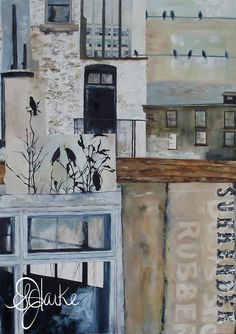 'Surrender' 2010 (SOLD) This girls original paintings are mind blowing! Sarah Clarke is incredibly talented. Check her out! Where The Heart Is, Mind Blown, Original Paintings, Gallery Wall, The Originals, Check, Girls, Home Decor, Daughters