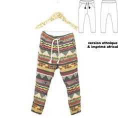 25726b9bb1f4e Patron de couture Pantalon ou Short DAKAR PDF 3-12A