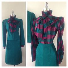 1970s Vintage Ultra Suede Holiday Suit w/ by ravenouscreatures