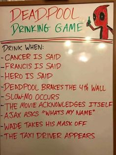 Best drinking game idea ever