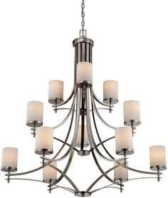 """Savoy House 1-332-12 Colton 12 Light 40"""" Wide 3 Tier Chandelier"""