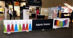 Fabric frames used indoors in a shopping centre. Fabric Frame, Framed Fabric, Banner Design, Centre, Frames, Indoor, Wall, Shopping, Interior