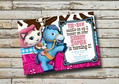 Sheriff Callie Invitation - Sheriff Callie's Wild West printable birthday invitation
