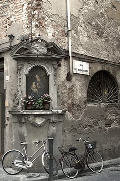 Florence Bicycles and Madonna