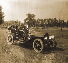 Cadillac circa 1907. #Cadillac #Racing #Enthusiast? So is #Rvinyl.com. Upgrade damaged #Bumpers here www.rvinyl.com/Cadillac-CTS-Body-Kits.html