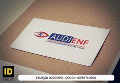 Criação de Logotipo para a empresa Audienf.