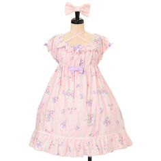 Angelic pretty アンジェリックプリティ ($98) ❤ liked on Polyvore featuring dresses