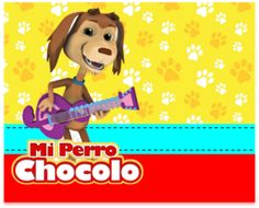 Kit imprimible candy bar Mi Perro Chocolo para eventos   Candy Bar Gratis Metallica Art, Baby Shower, Scooby Doo, Winnie The Pooh, Disney Characters, Fictional Characters, Disney Princess, Dogs, Design