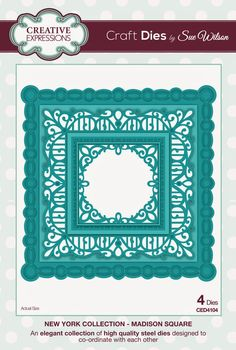 PartiCraft (Participate In Craft): New York Collection Madison Square die