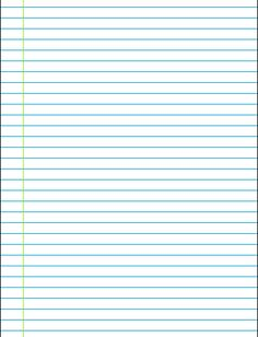 Lineaturen: allerlei soorten schrijfblaadjes met diverse lijnen en ruiten, voor schrijven en rekenen