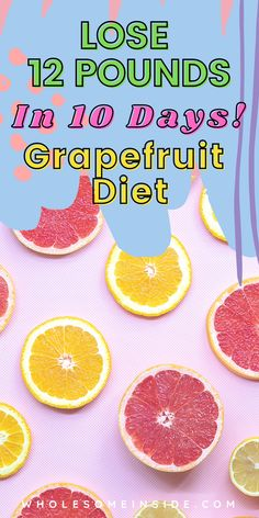 Hoping to lose weight and achieve that flat belly? The grapefruit diet could be the perfect meal plan to lose as much as 12LBS in 10 DAYS! This quick and natural weight loss method can be added onto your work out routine to achieve even more effective results! Follow this link for detailed DAY BY DAY meal plan and guide 😋 Detox To Lose Weight, Lose Weight In A Month, Lose Weight Naturally, Need To Lose Weight, Diet Plans To Lose Weight, Reduce Weight, Grapefruit Diet, Lose 10 Pounds In A Week, Easy Diets
