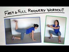 This video shows the basic movements in the Fast and Full Recovery Workout - A simple set of easy exercises you can do as active recovery after your long run.
