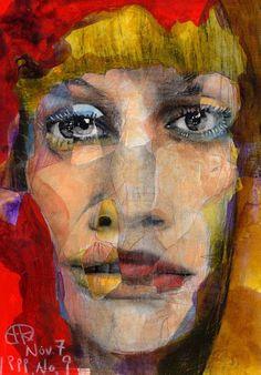 Takahiro kimura ( ) broken 1000 faces art -a Cubist Portraits, Portrait Art, Painting Collage, Collage Art, Art Collages, Videos Anime, Stencils, Ap Studio Art, 2d Design