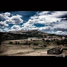 Perspectiva da cidade a partir de Sul . Street View aqui: Fotografia feita em…