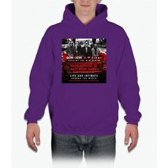 BON JOVI - PRESENT TOUR DATE 2017 - THIS HOUSE IS NOT FOR SALE Hoodie