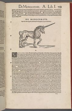Historiae animalium (Histories of the Animals) Author: Conrad Gesner (Swiss, Zurich 1516–1565 Zurich) Date: Printed 1551 Culture: Swiss (Zurich) Medium: Woodcut in printed book Dimensions: Overall: 14 3/4 × 19 7/8 in. (37.5 × 50.5 cm) open Classification: Miscellaneous Credit Line: The New York Public Library, Rare Book Division, Astor, Lenox and Tilden Foundations Not on view This artwork is part of Search for the Unicorn: An Exhibition in Honor of The Cloisters' 75th Anniversary
