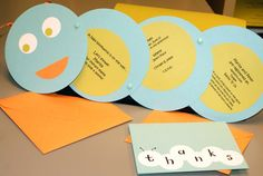 Cutest invites and thank you's for a baby boy shower ever!