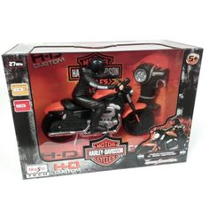 Radio Control Harley-Davidson motorbike toy https://www.bluefrogtoys.co.uk/toys-games/radio-control-toys/radio-contol-harley-davidson-motorcycle-in-orange-detail