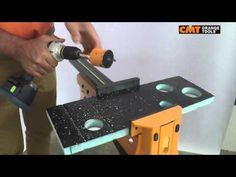 CMT hole saw 551 on sandwich material