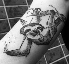 Jules We sloth tattoo