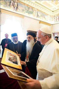 Pape François - Pope Francis - Papa Francesco - Papa Francisco - Pope to Orthodox Syrian Catholicos from India
