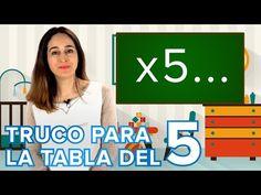 Truco de las tablas de multiplicar del 6, 7 8 y 9 con las manos - YouTube