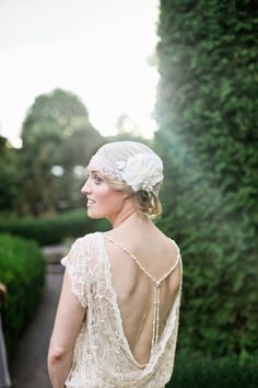 1920's inspired bride and wedding on SMP! Photography by velaimages.com