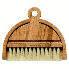 Swedish table brush made in traditional way for more than a hundred years.