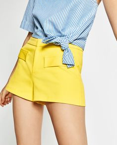 LOW RISE SHORTS-SHORTS-WOMAN | ZARA United Kingdom