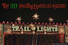 Top 20 Holiday Events in Austin 2012 - R
