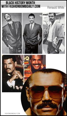 Renauld White In November 1979, White was the first African-American model to appear on the cover of GQ magazine