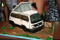 Cake van Volkswagen, Automobile, Van, Cakes, Gallery, Interior, Ideas, Car, Food Cakes