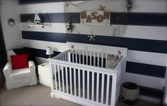 Ahoy matey! @christina kelly - how cool would these stripes be if it's a boy?! I'd have to enlist your help :)