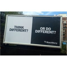 """BlackBerry - """"Do Different"""" / London, May 2012"""