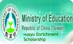 Ministry of Education Huayu Enrichment Scholarship for International Students in Republic of China (Taiwan) ,and applications are subitted till February 1st through March 31st. Applications are invited for Mandarin Language Enrichment Scholarship available for international students (except Mainland China, Hong Kong, Macao SAR students).