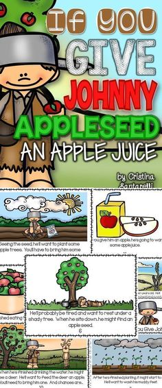 Johnny Appleseed Activity!