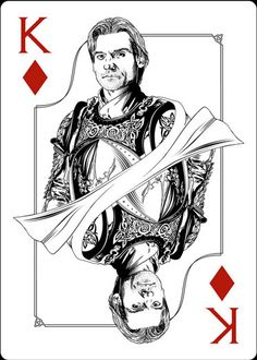 Playing Cards - King Of Diamonds, Jaime, Game Of Thrones Playing Cards by Paul Nojima, Time Void - playingcards, playingcardsart, playingcardsforsale, playingcardswithfriends, playingcardswiththefamily, playingcardswithfamily, playingcardsgame, playingcardscollection, playingcardstorage, playingcardset, playingcardsfreak, playingcardsproject, cardscollectors, cardscollector, playing_cards, playingcard, design, illustration, cardgame, game, cards, cardist
