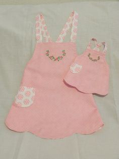 $23.20 Little girl apron and apron for doll